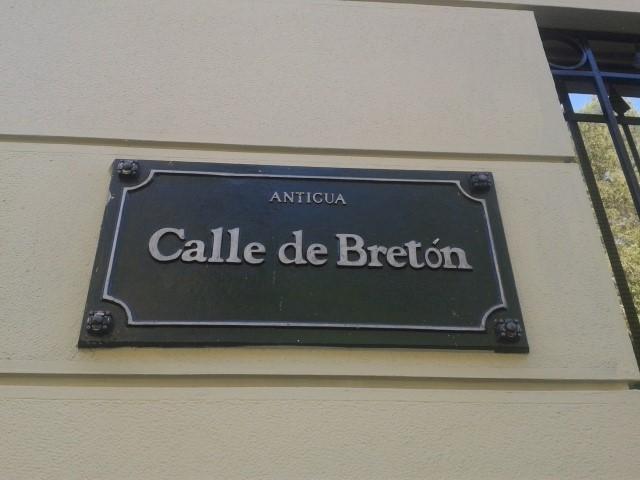 Calle de Breton - Santa Lucia