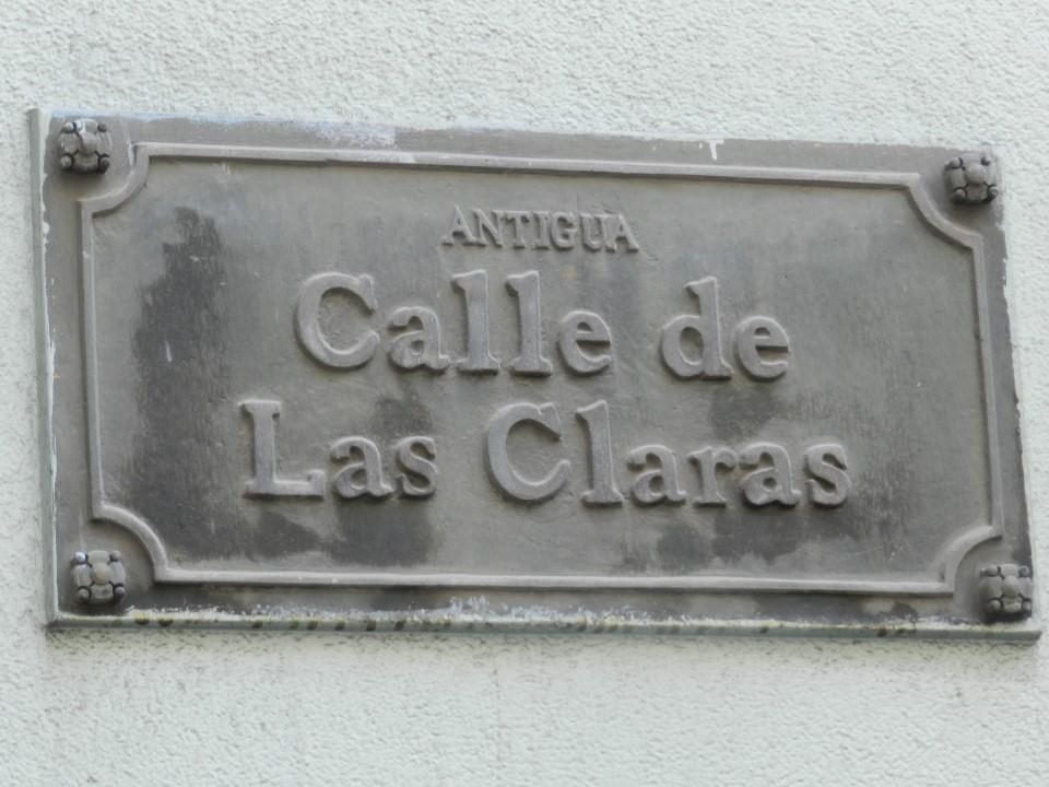 Calle de las Claras -Macgiver
