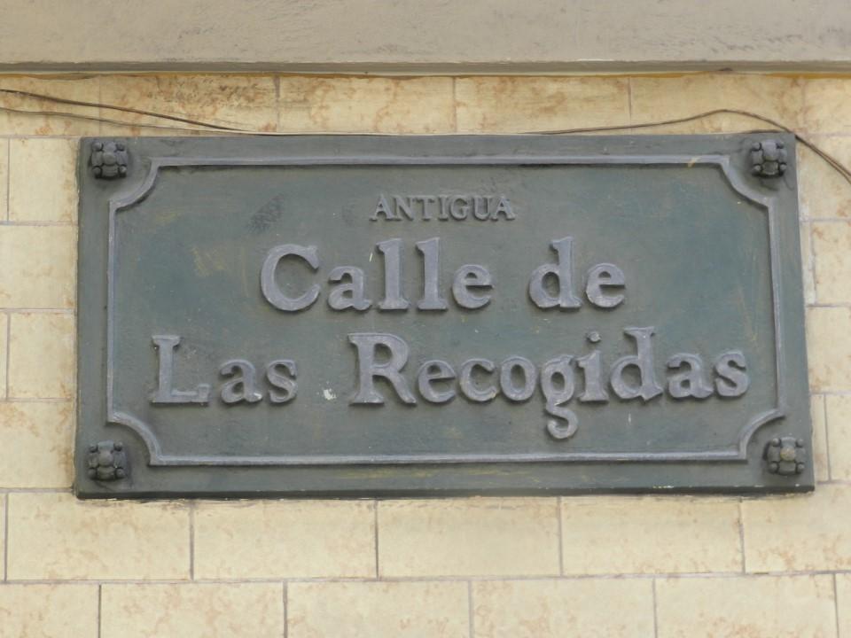 Calle de las Recogidas - Miraflores
