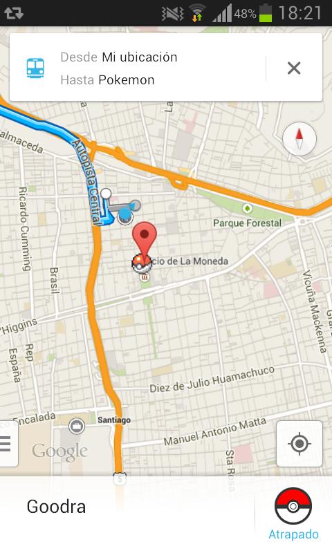 Broma de ubicacion de celular