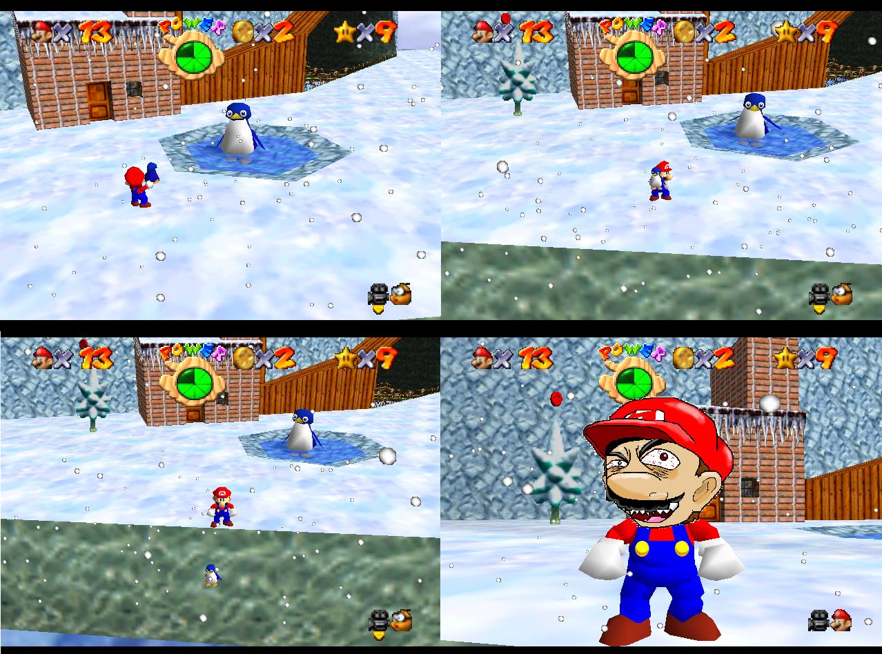 Mario es un maldito psicopata