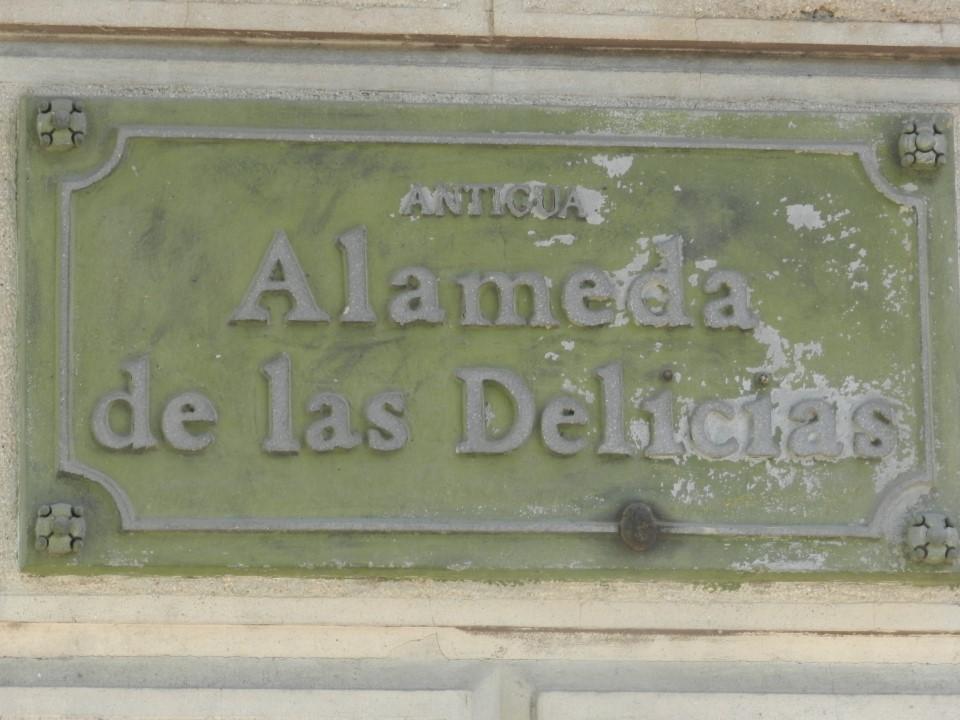 Alameda de las Delicias - Bernardo Ohiggins