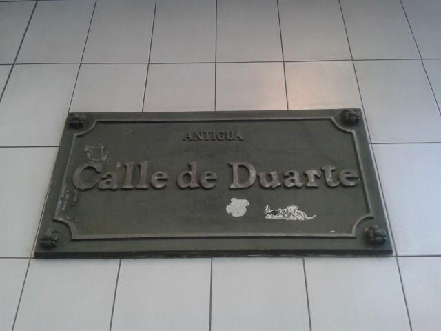 Calle de Duarte - Lord Cochrane