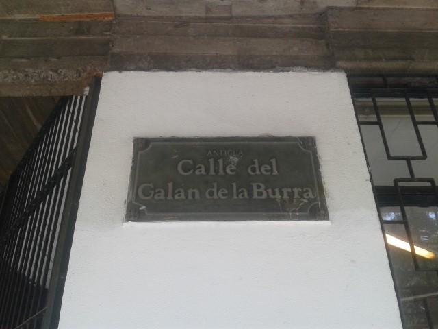 Calle del Galan de la Burra - Erasmo Escala