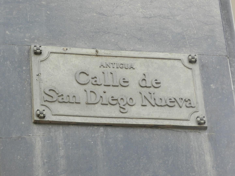 Calle de San Diego Nueva
