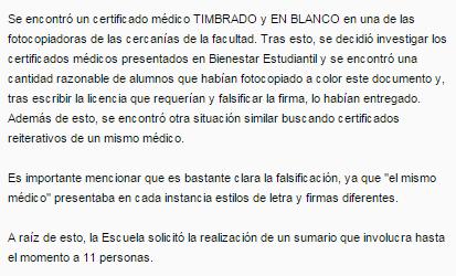certificado falso